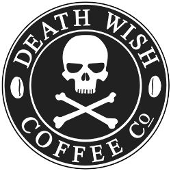DEATH WISH COFFEE inverted logo
