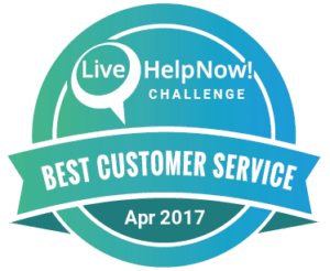 Live Help Now April Award